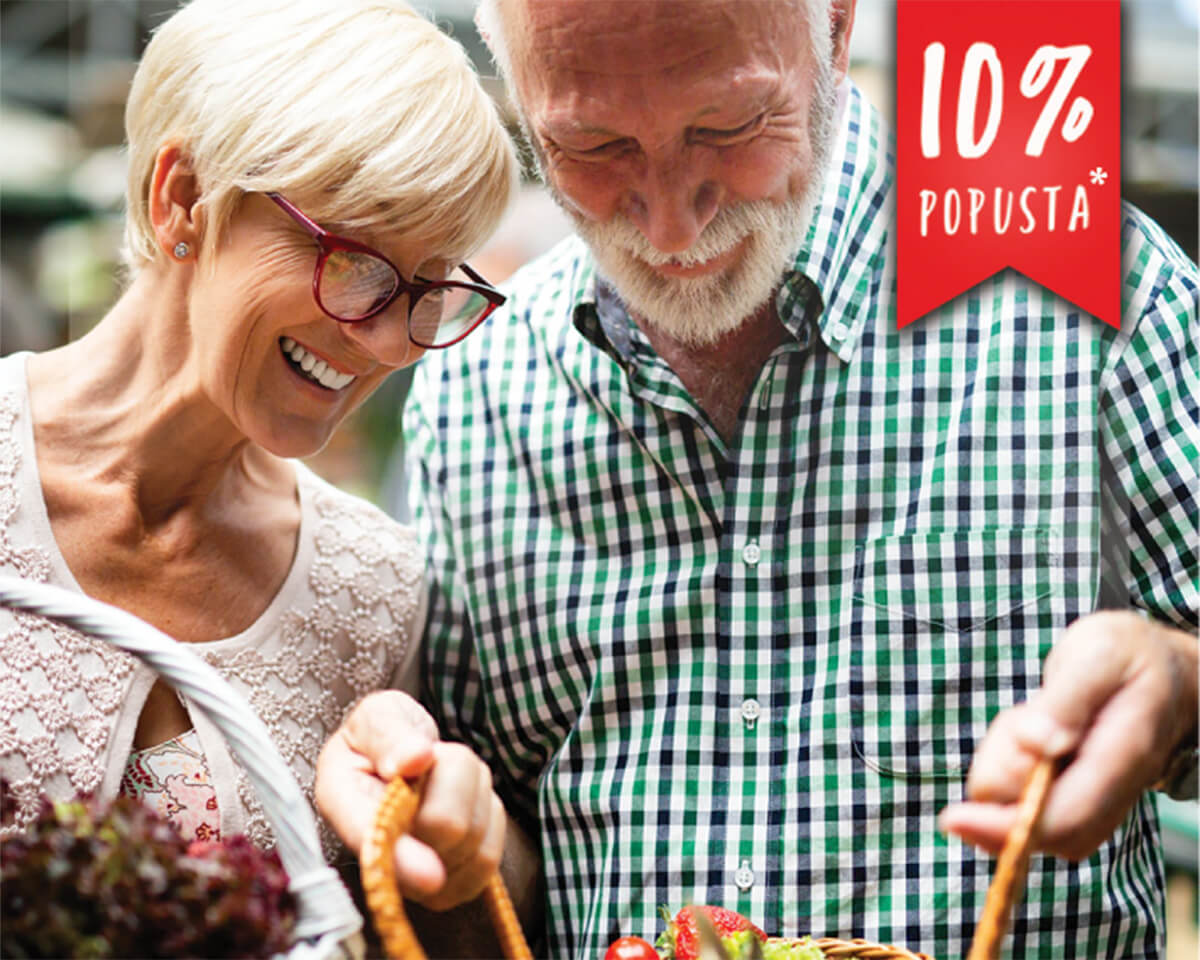 Popust na kupovinu za  penzionere
